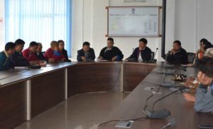 Meeting on Stray dogs in Tawang