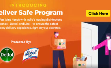 RB India और Grofers ने मिलकर लॉन्च किया Deliver Safe Program