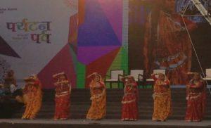 पर्यटन पर्व में बिहार की टीम इंद्रधनुष ने दर्शकों का मन मोहा