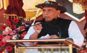 गृहमंत्री एसएसबी के 54वें वर्षगांठ परेड में शामिल हुए