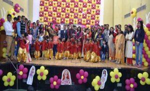 पीआरपीसी टाउनशिप में क्रैच द्वारा वार्षिक कार्यक्रम का आयोजन