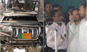 आरोपी को बचा रहे नीतीश कुमार : तेजस्वी
