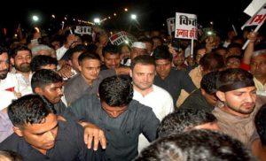 रात को केंडल मार्च, अलसुबह विधायक गिरफ्तार