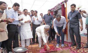 मुख्यमंत्री नीतीश कुमार ने दिल्ली में किया 'बिहार सदन' का शिलान्यास