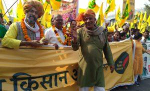 स्वराज इंडिया ने बिजवासन से रामलीला मैदान तक किया पैदल मार्च