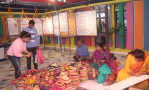 रूरल इंटरप्राइजेज ऑफ इंडिया के थीम पर दिखी बिहार की नायाब हस्तकलाओं की झलकियां