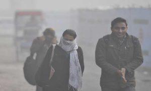 दिल्ली में शीतलहर का प्रकोप