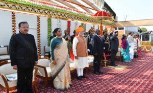 गणतंत्र दिवस पर सैन्य शक्ति का गवाह बना राजपथ