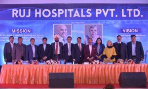 आरयूजे ग्रुप जयपुर, राजस्थान में खोलेगा मल्टीपल सुपर स्पेशियलिटी अस्पताल