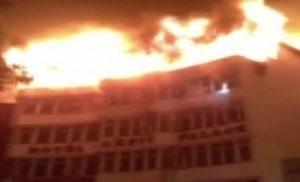 करोलबाग के एक होटल में लगी  आग, 17 मौत