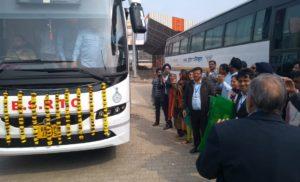 बीएसआरटीसी ने शुरू किया दिल्ली से पटना बस सेवा