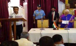 प्रमोद सावंत ने मारी बाजी, बने गोवा के नए सीएम