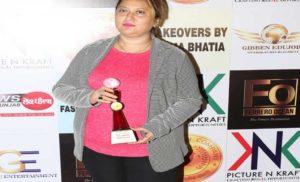 पारुल चावला को मिला बेस्ट मीडिया प्रोफेशनल का 'स्किल इंडिया अवार्ड'