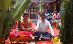 स्पोर्ट के लिए भाखवड़ी में श्री सत्यनारायण पूजा