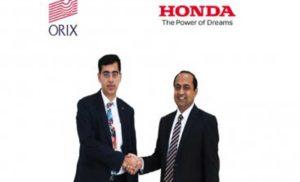 कार लीजिंग सर्विस के लिए होंडा कार्स इंडिया ने मिलाया ओरिक्स के साथ हाथ