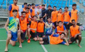 श्याम लाल कॉलेज ने जीता राजीव गांधी हॉकी टूर्नामेंट
