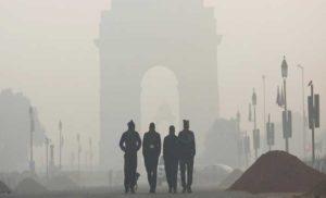 दिल्ली की वायु गुणवत्ता 'गंभीर' श्रेणी में