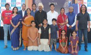 चैनल पर पहली बार बाबा साहेब की जीवन गाथा- 'एक महानायक-डाॅ. बी. आर. आम्बेडकर'