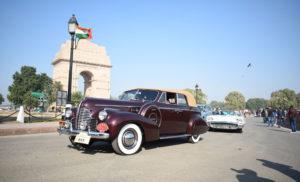 दिल्ली में दिखीं विंटेज कारें