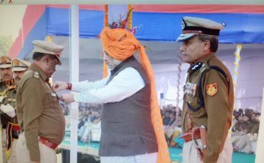 अरुण कुमार सिंह को राष्ट्रपति पुलिस पदक, बधाइयों का तांता