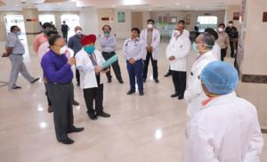 कोरोना वायरस की चुनौती से निपटने के लिए सफदरजंग में भी व्यापक प्रबंध: डाॅ हर्षवर्धन