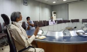दिल्ली में जल संकट, विजय भगत ने दिए अधिकारियों को निर्देश