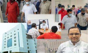 बुराडी में कोविड अस्पताल, विधायक की मेहनत रंग लाई : अजय बंसल
