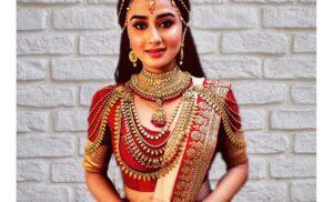 & TV के संतोषी मां सुनाएं व्रत कथाएं में गरिमा परिहार बनीं  देवी पार्वती