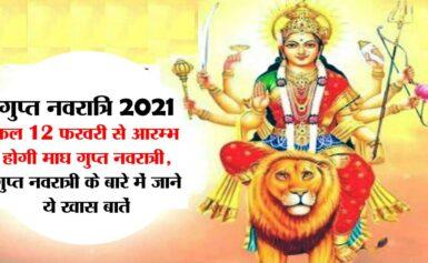Gupt Navratri 12 Feb, तन-मन से उपवास करें और मनोकामना को गुप्त रखें, फिर देखें मां कैसे आशीष बरसाती हैं