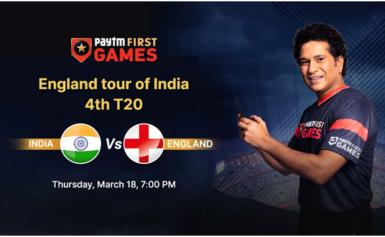 इंग्लैंडvs भारत:पेटीएम फर्स्ट गेम्स फैंटेसीभविष्यवाणी: England tour of India – 4th T20