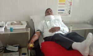 COVID-19 warrior, साठ साल की उम्र में राम गोपाल शर्मा 185 बार कर चुके हैं रक्तदान
