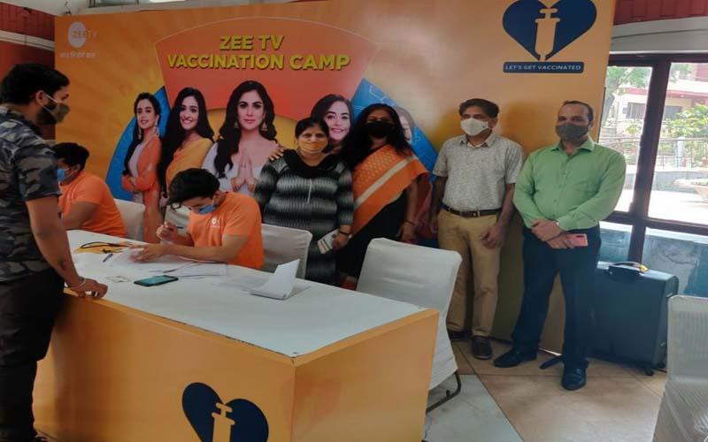 जानकी देवी मेमोरियल  महाविद्यालय में कोविड टीकाकरण शिविर आयोजित